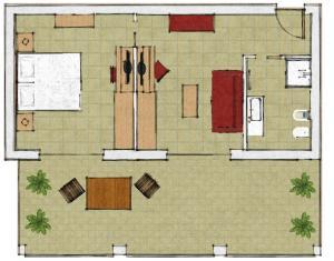 Villa Franca, Hotel  Nago-Torbole - big - 100