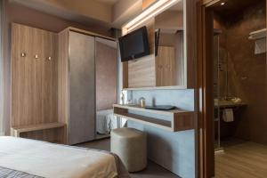 Hotel Belvedere, Отели  Морской Милан - big - 16