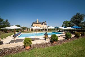 Les Charmes de Carlucet Manor and Villa, Ferienhäuser  Saint-Crépin-et-Carlucet - big - 47