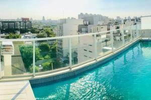 Departamento con piscina, cochera y parrilla, Apartments  Buenos Aires - big - 6
