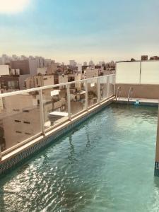 Departamento con piscina, cochera y parrilla, Apartments  Buenos Aires - big - 7