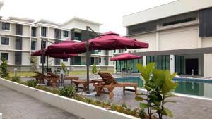 Brand New Town Villa Homestay @ Kampar [Near UTAR], Апартаменты  Kampar - big - 22