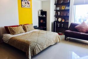 Habitación Privada con Baño, Проживание в семье  Мехико - big - 2