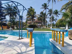 Hotel y Balneario Playa San Pablo, Отели  Monte Gordo - big - 87