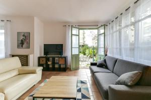 4BR - House - huge garden Palm Beach -congress - beaches - By IMMOGROOM - Cannes