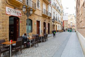 Apartamento CIGARRERAS de Cadiz, Apartmanok  Cádiz - big - 32