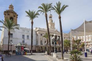 Apartamento CIGARRERAS de Cadiz, Apartmanok  Cádiz - big - 35