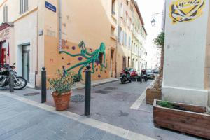 Luckey Homes - Rue Saint-Mathieu, Apartmány  Marseille - big - 2