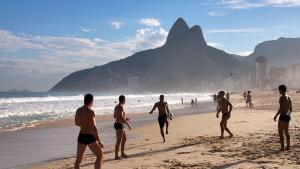 LineRio Copacabana 1 Quarto #188, Апартаменты  Рио-де-Жанейро - big - 3