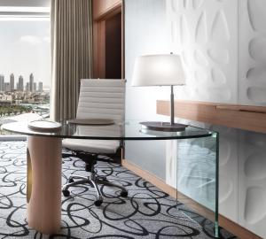 Junior Suite with King Bed and Burj Khalifa View