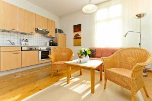 Ostseevilla Whg_ 01, Appartamenti  Bansin - big - 16