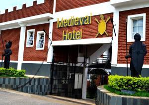 Medieval Hotel, Hotel  Três Corações - big - 36