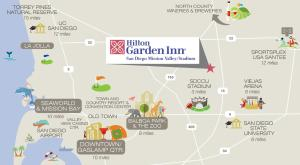 Hilton Garden Inn San Diego Mission Valley/Stadium, Hotels  San Diego - big - 16