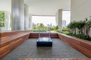Loft Moderno Berrini, Апартаменты  Сан-Пауло - big - 16