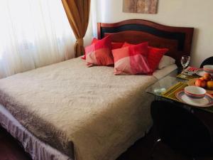 Apart Hotel San Pablo, Ferienwohnungen  Santiago - big - 24