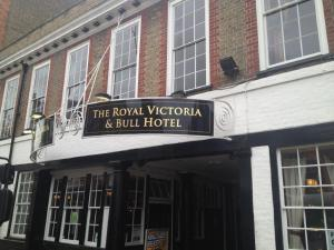 The Royal Victoria and Bull Hotel, Penziony  Dartford - big - 85