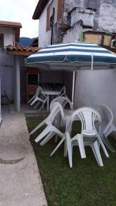 Pousada chalés Vereda do Sol, Guest houses  Ubatuba - big - 12