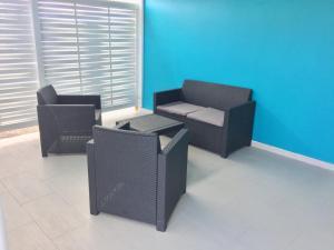 Le Domaine Turquoise, Апартаменты  Le Moule - big - 15