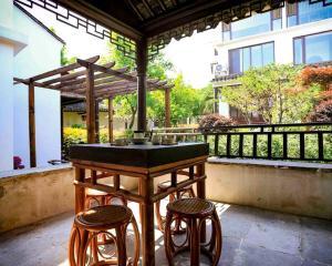 Pure-Land Villa, Privatzimmer  Suzhou - big - 37
