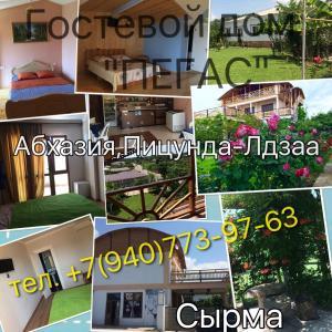 Guest House Pegas, Penzióny  Pizunda - big - 14
