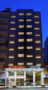 Hotel América, Szállodák  Mar del Plata - big - 10