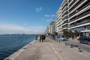 Thessaloniki Seaside Apartment A&B, Ferienwohnungen  Thessaloniki - big - 47