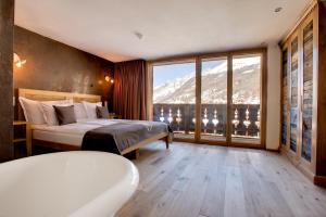 Firefly Luxury Suites, Hotels  Zermatt - big - 37