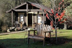 The Lovers' Cabin, Dovolenkové domy  Oakhurst - big - 18