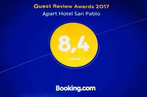 Apart Hotel San Pablo, Ferienwohnungen  Santiago - big - 20