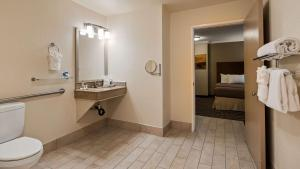 双人间 - 带2张双人床和步入式淋浴 - 带无障碍设施