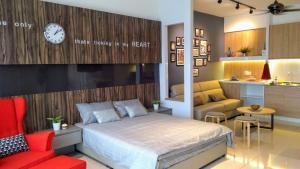 Evosoho Suite @ Bandar Baru Bangi, Apartmány  Kampong Sungai Ramal Dalam - big - 6