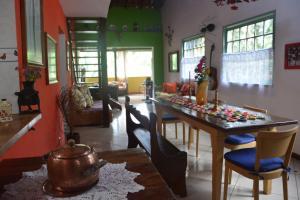 Casa Lumar, Проживание в семье  Парати - big - 13
