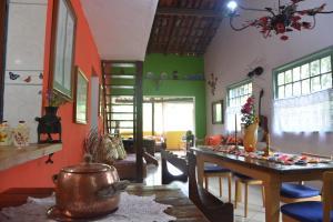 Casa Lumar, Проживание в семье  Парати - big - 1
