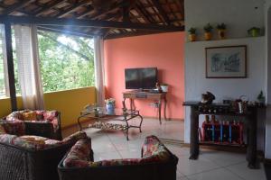 Casa Lumar, Проживание в семье  Парати - big - 2