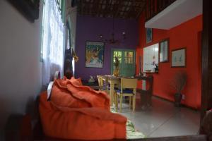Casa Lumar, Проживание в семье  Парати - big - 11