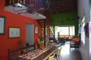 Casa Lumar, Проживание в семье  Парати - big - 9