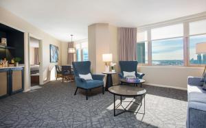 Suite med 1 soveværelse med kingsize-seng
