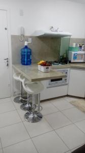 Apartamento na praia de Canasvieiras com wifi, piscinas e ar condicionado nos quartos., Ferienwohnungen  Florianópolis - big - 5