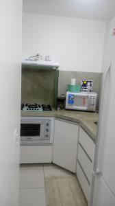 Apartamento na praia de Canasvieiras com wifi, piscinas e ar condicionado nos quartos., Ferienwohnungen  Florianópolis - big - 7