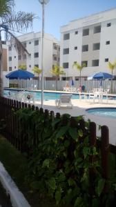 Apartamento na praia de Canasvieiras com wifi, piscinas e ar condicionado nos quartos., Ferienwohnungen  Florianópolis - big - 18