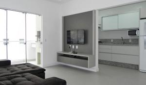 Apartamento Cerca del Mar 2 Suites, Apartmanok  Bombinhas - big - 8