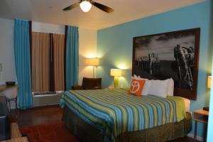 Business-værelse med kingsize-seng- ikkeryger.