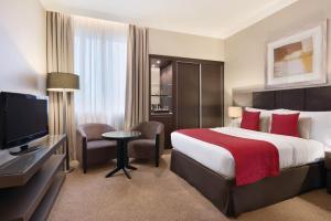 Rom med king-size-seng – Røykfritt
