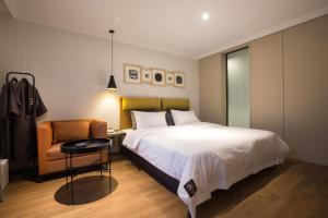 Brown-Dot Hotel Choeup, Hotely  Pusan - big - 10