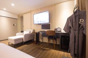 Brown-Dot Hotel Choeup, Hotely  Pusan - big - 11