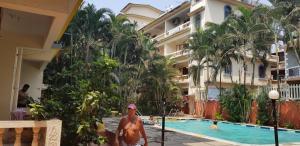 Studio Apartment @ Colonia De Braganza 3 Star Resort, Apartmány  Calangute - big - 7