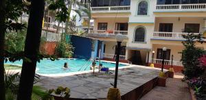 Studio Apartment @ Colonia De Braganza 3 Star Resort, Apartmány  Calangute - big - 13
