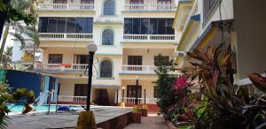 Studio Apartment @ Colonia De Braganza 3 Star Resort, Apartmány  Calangute - big - 14