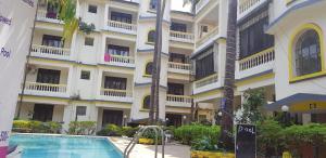 Studio Apartment @ Colonia De Braganza 3 Star Resort, Apartmány  Calangute - big - 15
