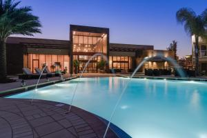 Four-Bedroom Villa with BBQ - Resort View